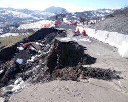 Frane: partono i lavori per la pista provvisoria sulla SP 25 Vergato – Zocca / L'elenco dei movimenti franosi in montagna