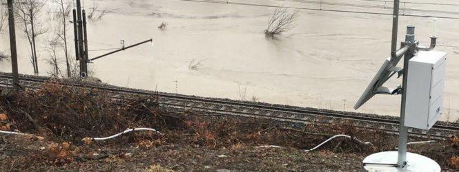 Frana di Gaggio: interrotta fino a data da destinarsi  la circolazione dei treni