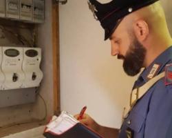 Monzuno: furto di energia elettrica