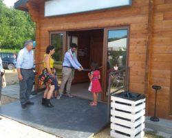 Castiglione dei Pepoli: inaugurato il chiosco sul lago di Santa Maria
