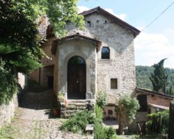 Borgo La Scola: Inaugurazione della Via Crucis di Gian Paolo Roffi
