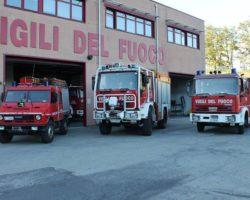 Castiglione dei Pepoli: I Vigili del fuoco compiono quarant'anni