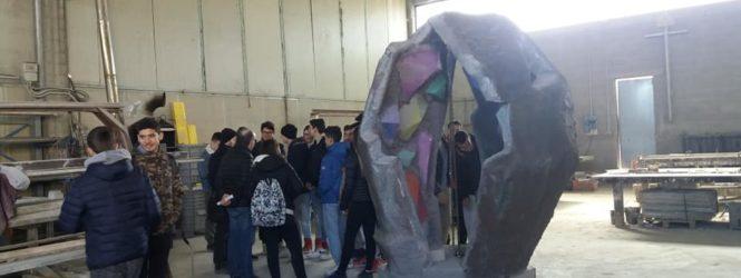 Vergato: Inaugurazione del monumento ai caduti progettato dagli studenti
