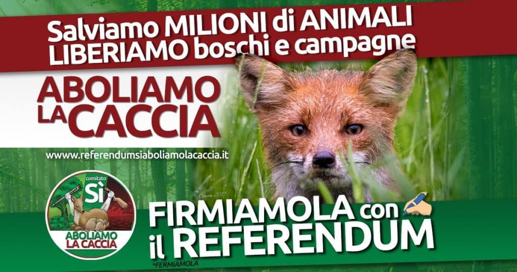 referendum caccia